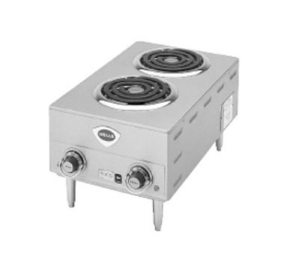Wells H63CD-208/240V Spiral Electric Hotplates
