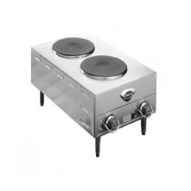 Wells H70-220-240V French Electric 220 to 240 Volt Double Burner Hotplate