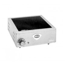Wells HC100-120V Ceramic 120 Volt Single Burner Hotplate with 7