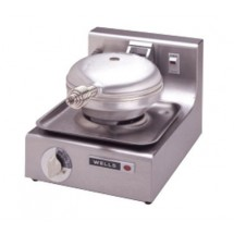 Wells WB1-208/240V Traditional Single Grid 208 to 240 Volt Round Waffle Baker