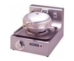 Wells WB1-220-240V Traditional Single Grid 220 to 240 Volt Round Waffle Baker