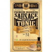 Weston 02-1031-W Bratwurst Sausage Tonic Seasoning Kit