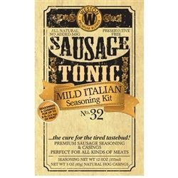 Weston 02-1032-W Mild Italian Sausage Seasoning Kit