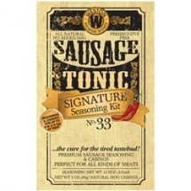 Weston 02-1033-W Signature Hunter's Blend Sausage Tonic Seasoning Kit