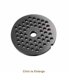 Weston 15-0808 Meat Grinder Plate #8, 8mm