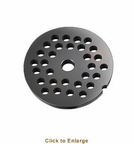 Weston 15-0810 Meat Grinder Plate #8, 10mm