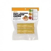 Weston 19-0122-W Collagen Sausage Casing, 33mm