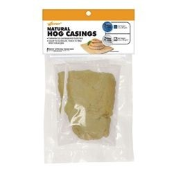 Weston 19-0302-W Sausage Casings, Natural Hog (makes 25-30 lbs.)