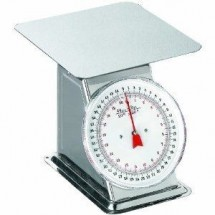 Weston 24-0302 Flat Top Dial Scale, 44 lb.