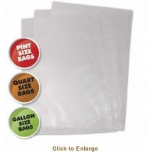Weston 30-0107-K Vacuum Sealer Bags Variety Pack - 50 count (Bagged)