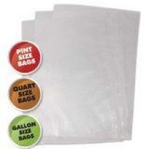 Weston 30-0107-M Live to Cook Vacuum Sealer Bags, Variety Pack, 50 count