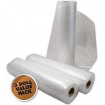 "Weston 30-0201-M Vacuum Sealer Bags Rolls 8"" x 22 ft. - 3 Pack"
