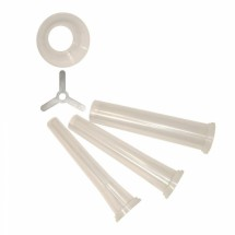 Weston 36-0817 3-Piece Stuffing Funnel Set for Weston #8 Grinders