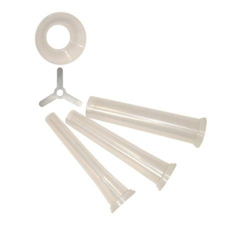 Weston 36-1017 3-Piece Stuffing Funnel Set for Weston #10/12 Grinders
