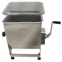 Weston 36-2001-W Pro Series Stainless Steel Meat Mixer 44 lb.
