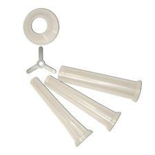 Weston 36-3217 3-Piece Stuffing Funnel Set for Weston #32 Grinders
