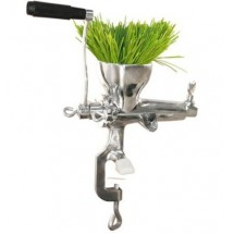 Weston 36-3801-W Manual Wheatgrass Juicer, Stainless Steel