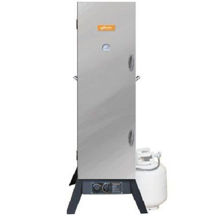 Weston 41-0401-W Vertical Outdoor Propane Smoker, 48