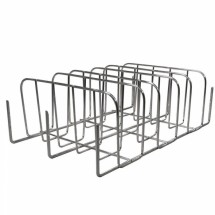 Weston 42-0101-W Rib and Potato Smoker Rack, Chrome Plated