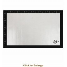 "Weston 54-0201-W-N Silicone Baking Mat 11"" x 17"""