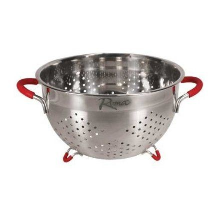 Weston 66-0104-W Roma Stainless Steel Colander 3.5 Qt