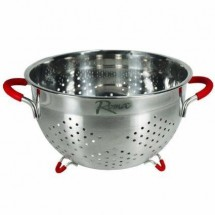 Weston 66-0105-W Roma Stainless Steel Colander 5.5 Qt