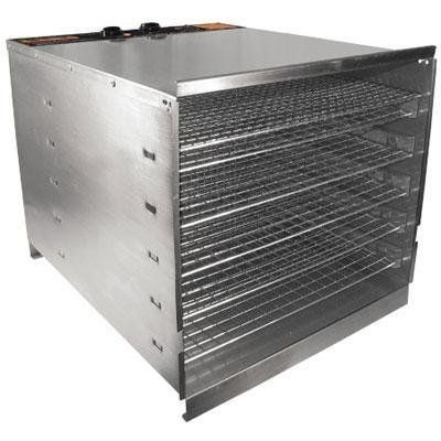 Weston 74-1001-W 10 Tray Stainless Steel Food Dehydrator