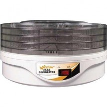 Weston 75-0601-W 4-Tier Round Food Dehydrator
