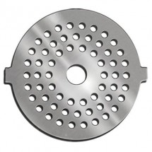 Weston 82-0121 No. 5 Stainless Steel Meat Grinder Plate, 3mm