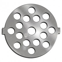 Weston 82-0123 No. 5 Stainless Steel Meat Grinder Plate 7mm