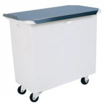 Win-Holt 1529PIB/ALC White Polyethylene Single Ingredient Bin