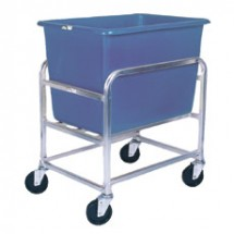 Win-Holt 30-6-A / BL Aluminum Bulk Mover with 6 Bushel Blue Tub