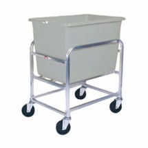Win-Holt 30-6-A / GY Aluminum Bulk Mover with 6 Bushel Gray Tub