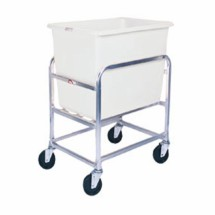 Win-Holt 30-6-A/WH Aluminum Bulk Mover with 6 Bushel White Tub