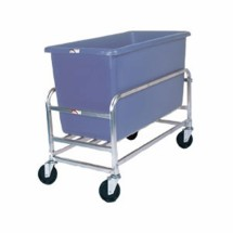Win-Holt 30-6-SS / BL Stainless Steel Bulk Mover with 6 Bushel Blue Tub