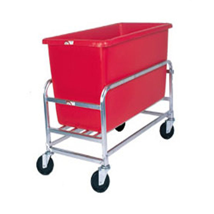 Win-Holt 30-8-SS/RD Stainless Steel Bulk Mover with 8 Bushel Red Tub