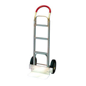 """Win-Holt 308SP Magnesium Hand Truck with 10"""" Semi-Pneumatic Wheels"""