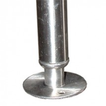Win-Holt 4497-3 Sink Accessories Stainless Steel Bullet Feet