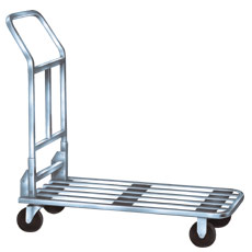 Win-Holt 500CH Chrome Plated Steel Stocking Cart