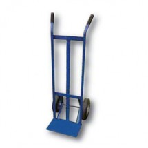 "Win-Holt 508SP Heavy Duty Steel Pipe Hand Truck with 10"" Semi-Pneumatic Wheels"