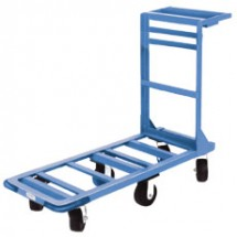 "Win-Holt 550HD 51"" Heavy Duty Utility Cart with Heavy Duty Rubber Wheels"