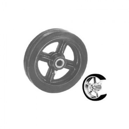 """Win-Holt 711 Mold On Rubber Wheels 6"""""""