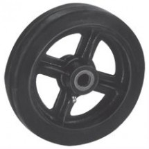 Win-Holt 712 Mold On Rubber Center Wheel