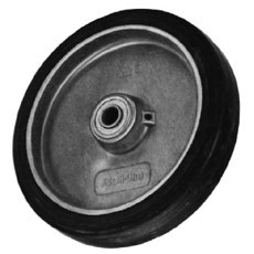 Win-Holt 715 Mold On Rubber Wheel 8""