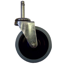 Win-Holt 750 Swivel Stem Wheel Caster, 110 lbs Capacity
