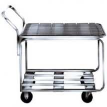 Win-Holt 9000-STK4 Stocking / Marking Cart with Chrome Finish