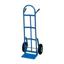 "Win-Holt 99MR Steel Tube Hand Truck with 8"" Mold On Rubber Wheels"