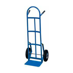"Win-Holt 99SP Steel Tube Hand Truck with 10"" Semi-Pneumatic Wheels"