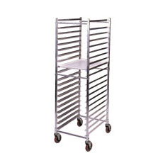 Win-Holt ADE1820B/KDA 20-Pan Aluminum End Loading Sheet Bun Rack