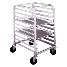 Win-Holt AL-1806/H Half Size Side Load Aluminum Rack
